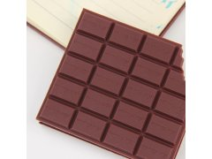 Poznámkový blok ukousnutá čokoláda 4