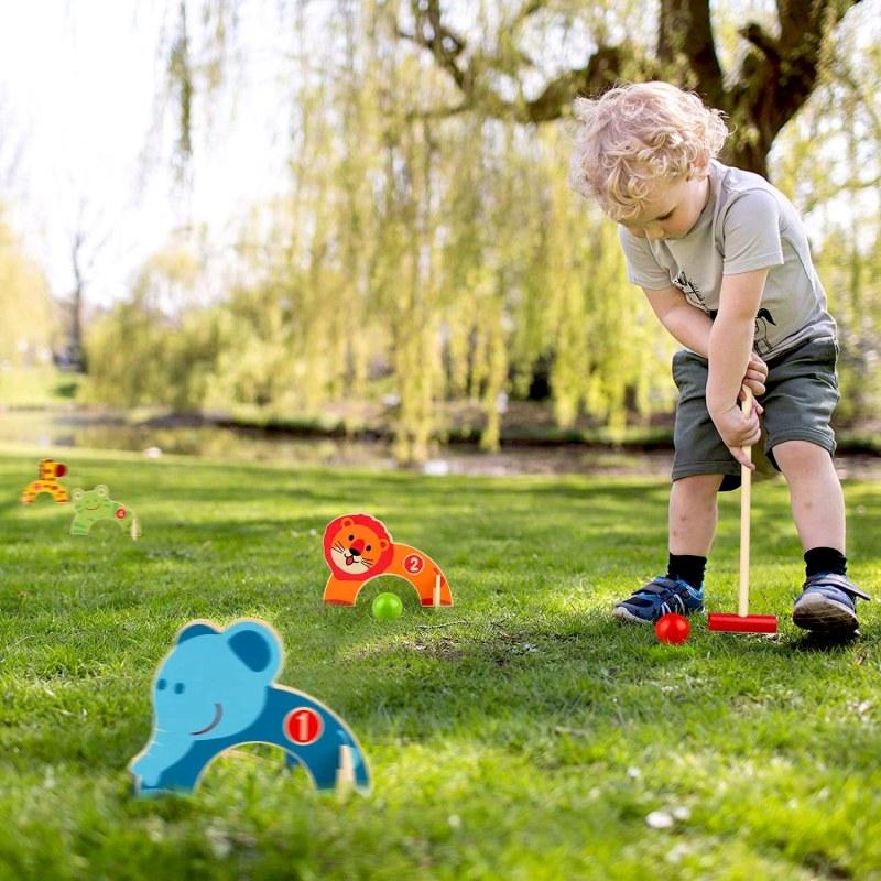 Dětská dřevěná hra - kroket