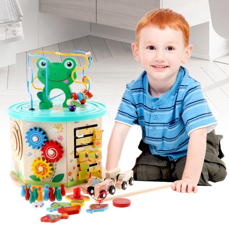 Dřevěná vzdělávací hračka