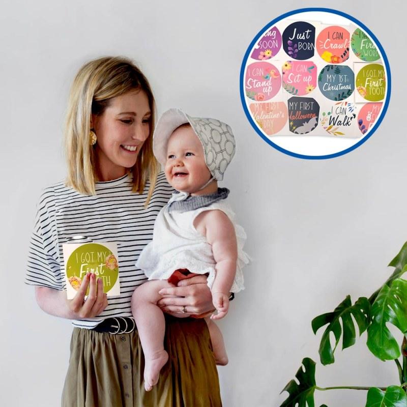 Milníkové kartičky pro miminko