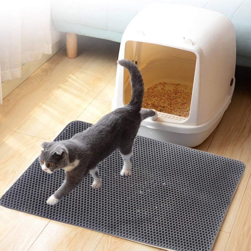 Podložka pod kočičí toaletu