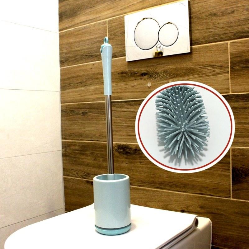 Rychleschnoucí wc štětka - modrá
