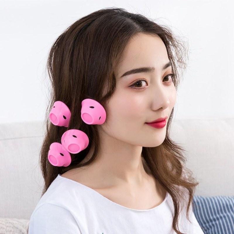 Silikonové natáčky - růžové