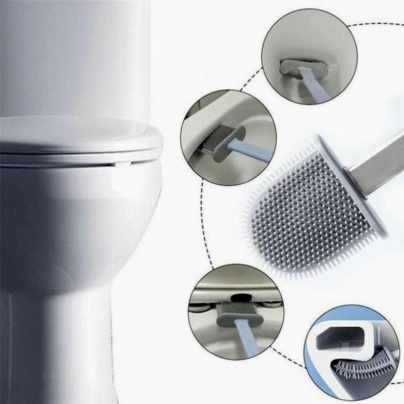 Silikonový kartáč na wc
