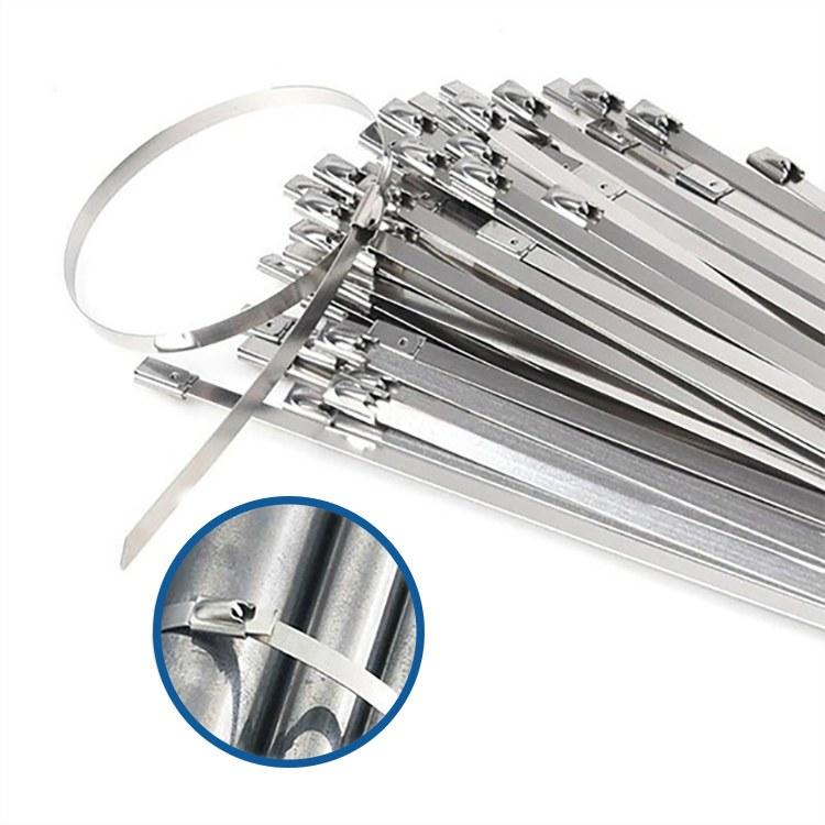 Stahovací pásky - kovové 10 cm