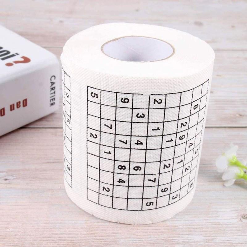 Toaletní papír - Sudoku