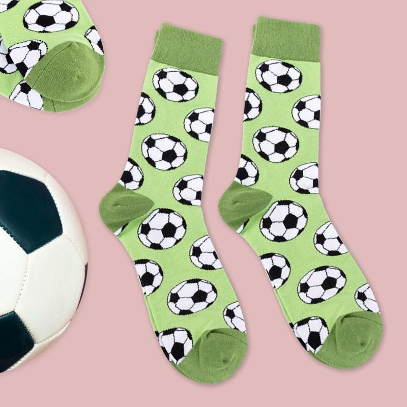 Veselé ponožky - fotbal