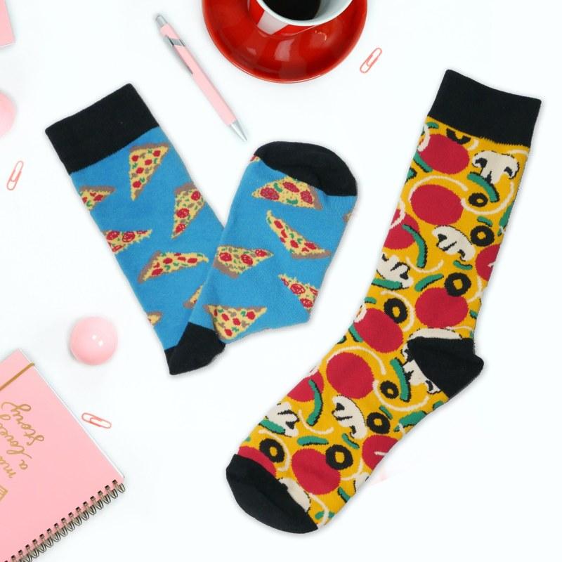 Veselé ponožky - pizza